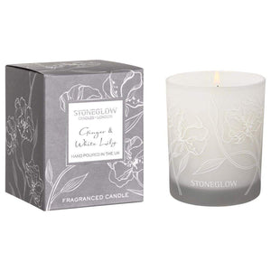 Stone Glow Day Flower - Ginger & White Lily Tumbler