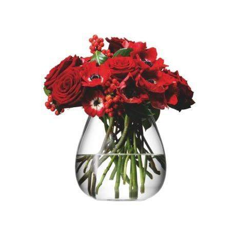 LSA Flower Table Bouquet 17cm Vase - Clear