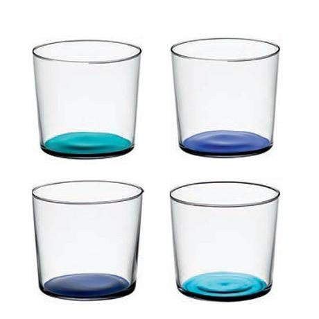 LSA Coro Tumbler - Lagoon Assorted - Set of 4