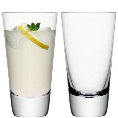 LSA Madrid Highball 440ml - Clear - Pair