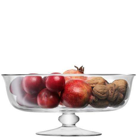LSA Serve Dessert Comport - 31cm - Clear