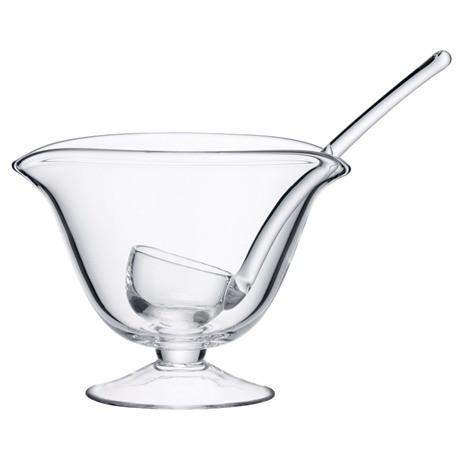 LSA Serve Sauceboat & Scoop - Clear