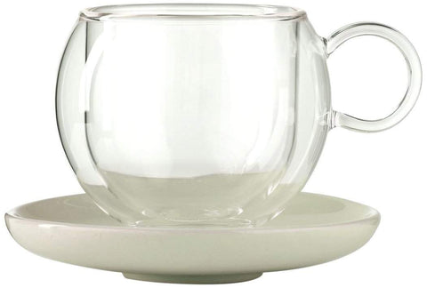 La Cafetiere Bola Large Cup and Saucer