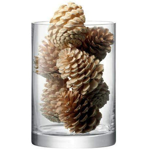LSA International Column Vase/Candle Holder - 24x17cm - Clear