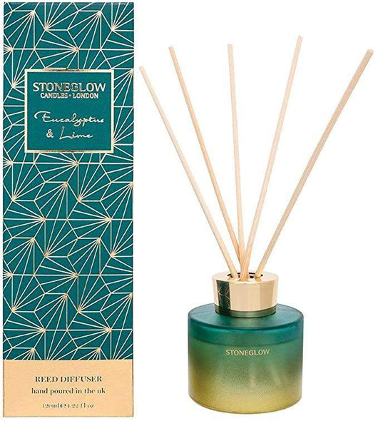 Stoneglow Seasonal Collection - Eucalyptus & Lime Reed Diffuser