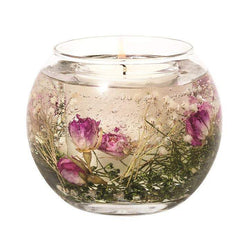 Stoneglow Botanic - Wild Rose Natural Wax Fishbowl