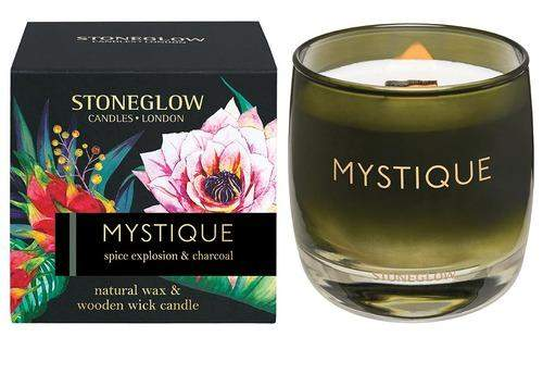 Stoneglow Infusion - Mystique Candle - Spice Explosion & Charcoal
