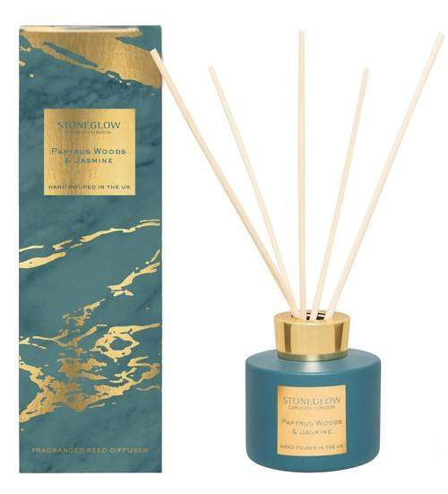Stoneglow Luna - Papyrus Woods & Jasmine Reed Diffuser