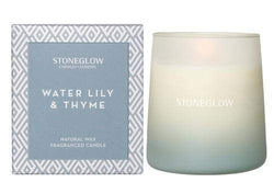 Stoneglow Geometric - Water Lily & Thyme Candle