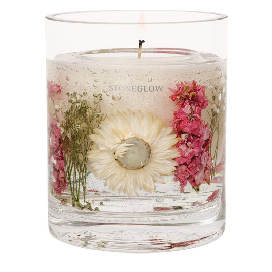 Stoneglow Nature's Gift - Geranium Rosa Natural Wax Gel Candle