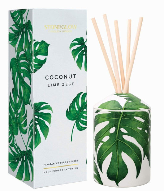 Stoneglow Urban Botanics Coconut & Lime Zest Reed Diffuser