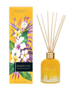 Stoneglow Infusion - Lemon Tea & Grapefruit Reed Diffuser Energise