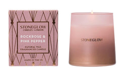 Stoneglow Geometric - Rock Rose & Pink Pepper Tumbler