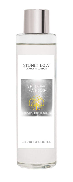 Stoneglow Nature's Gift - Yellow Tea Rose Reed Diffuser Refill