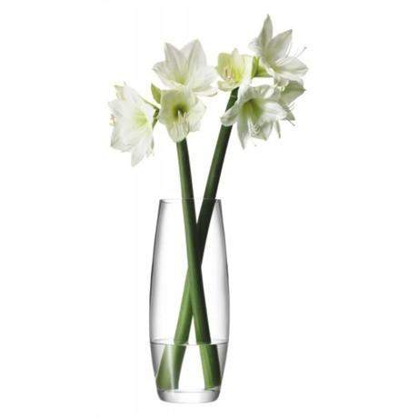 LSA Flower Grand Stem 41cm Vase - Clear