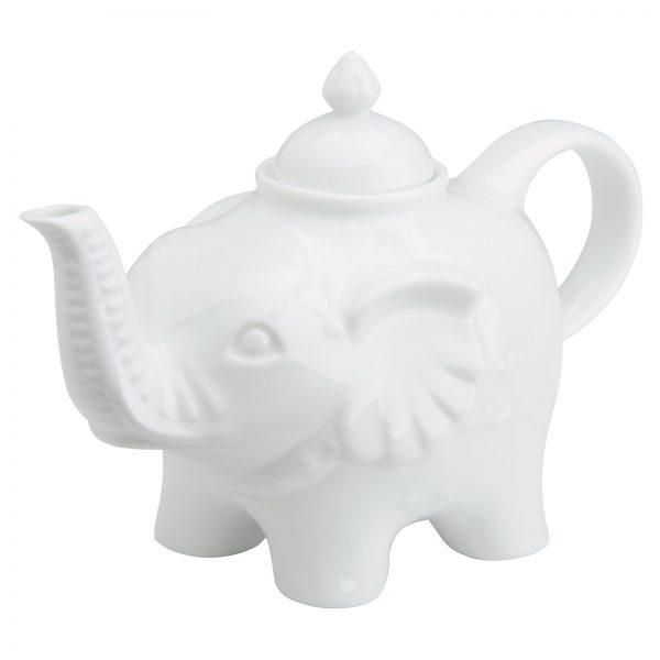 BIA International Elephant Teapot White