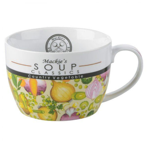 BIA International Clare Mackie Soup Mug Country Vegetable