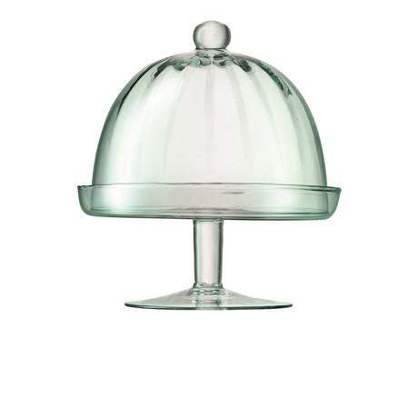 LSA Mia CakeStand & Dome - Clear/Optic - 12cm