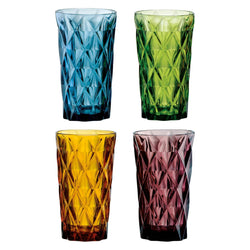 Artland Highgate Hi-ball Tumblers 450ml - Set of 4