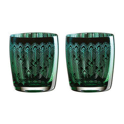 Artland Peacock DOF Tumblers - Set of 2