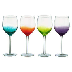 Anton Studio Designs Fizz Wine Glass Set of 4