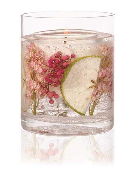 Stoneglow Nature's Gift - Apple Blossom Natural Wax Gel Candle