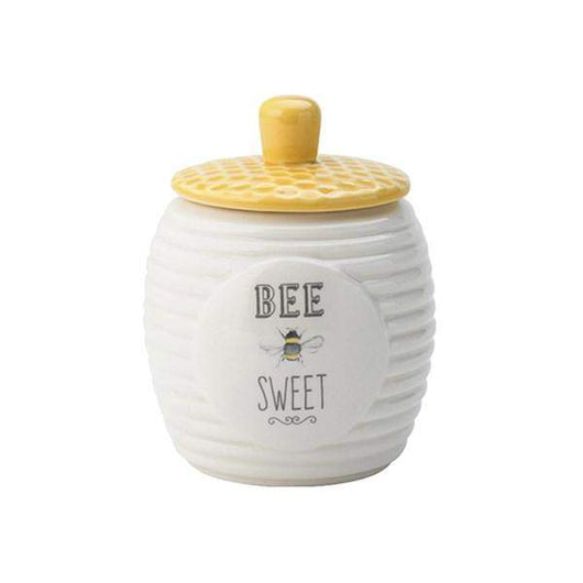 English Tableware Co Bee Happy Sugar Pot
