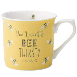 English Tableware Co Bee Happy Yellow Mug