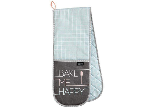 Ladelle Bake Me Happy Double Oven Mitt