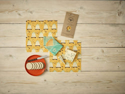 The Beeswax Wrap Cheese Pack - Beeswax Wrap Bee Hive