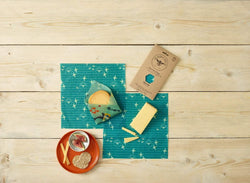 The Beeswax Wrap Cheese Pack - Beeswax Wrap Sea