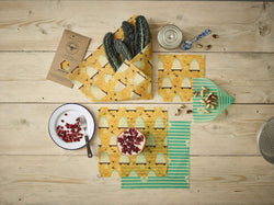 The Beeswax Wrap Large Kitchen Pack - Beeswax Wrap Bee Hive