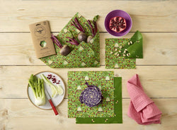 The Beeswax Wrap Large Kitchen Pack - Beeswax Wrap Land
