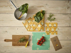 The Beeswax Wrap Medium Kitchen Pack - Beeswax Wrap Bee Hive