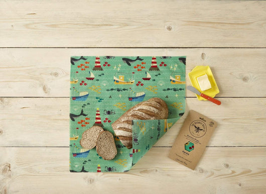The Beeswax Wrap Bread Wrap - Beeswax Bread Wrap Sail