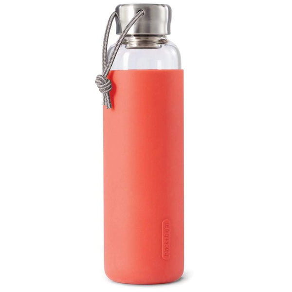 Black + Blum Glass Water Bottle Coral