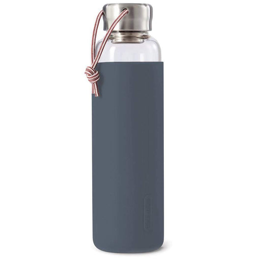 Black + Blum Glass Water Bottle Slate