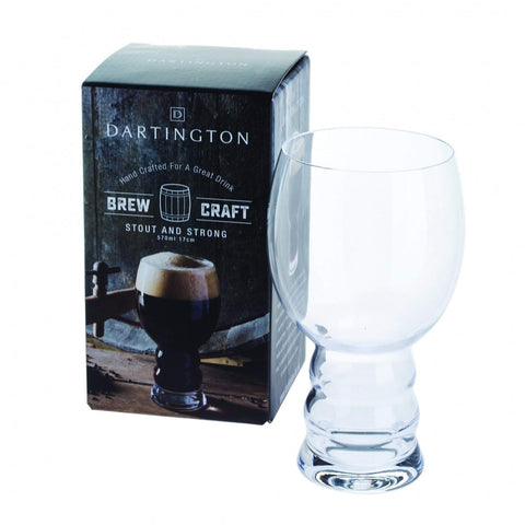 Dartington Crystal Brew Craft Stout and Strong Glass