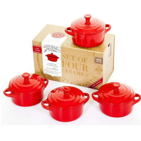 Wildly Delicious Cocotte Set Red