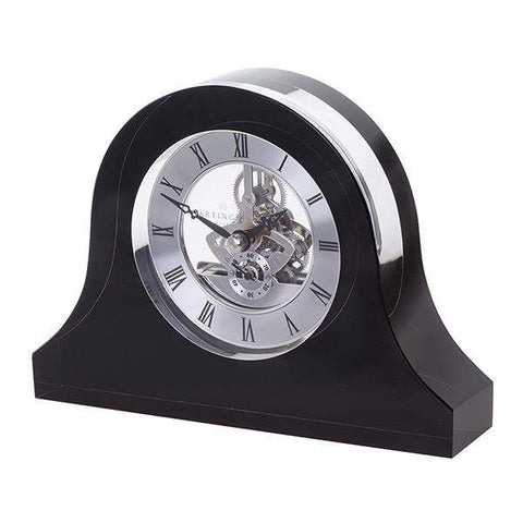 Dartington Crystal Clocks Mantle Black