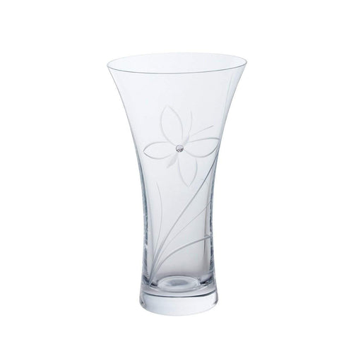 Dartington Crystal Glitz Butterfly Medium Vase