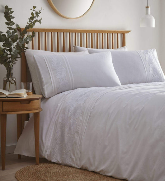 Fairmont Duvet Set Double White