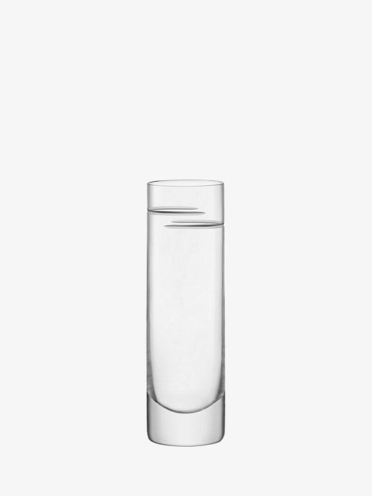 LSA International Verso Long Drink Glass 250ml Clear/Cut x 2
