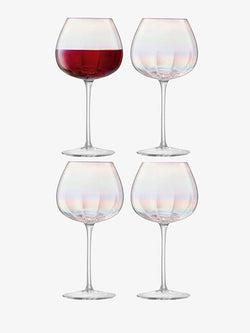 LSA International Pearl Red Wine Glass 460ml x 4