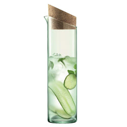LSA International Canopy Carafe 1.3L Clear/Cork