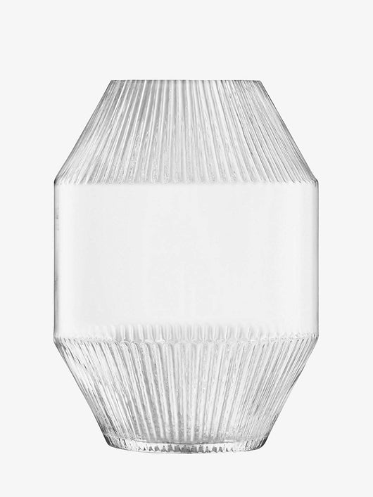 LSA International Rotunda Vase H37cm Clear