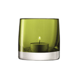 LSA Light Colour Tea Light Holder 8.5 cm - Olive