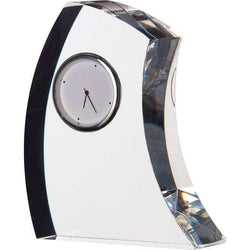 Dartington Crystal Crescent Medium Clock