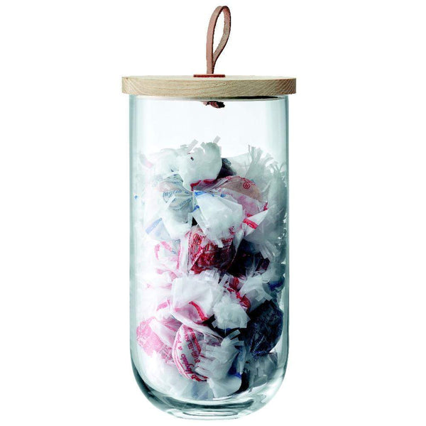 LSA International Ivalo Container & Ash Lid H29.5cm - Clear