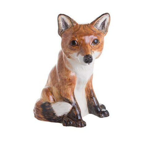 John Beswick Animal Money Banks Fox
